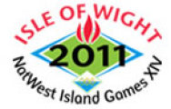 Logo for NatWest Island Games XIV - Isle of Wight 2011
