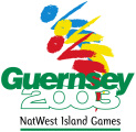 Logo for NatWest Island Games X - Guernsey 2003